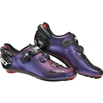 Sidi Wire 2 Carbon Air Road Shoes Limited Edition Blue/Red Iridescent