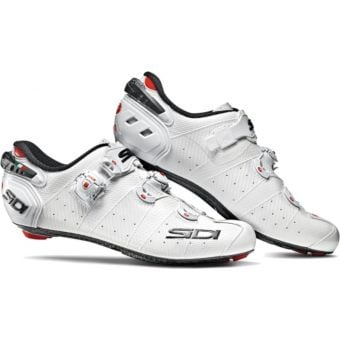 Sidi Wire 2 Carbon Womens Road Shoes White/White Black Liner