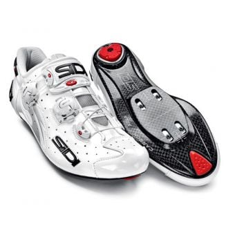 Sidi Wire Carbon Speedplay Vernice Road Shoes White Size 42