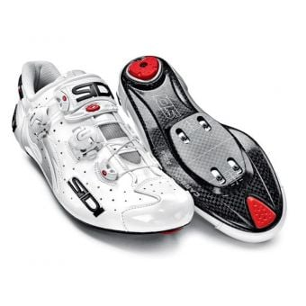 Sidi Wire Carbon Speedplay Vernice Road Shoes White