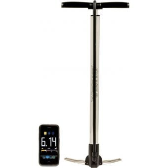 Silca Viaggio Travel Floor Pump Silver