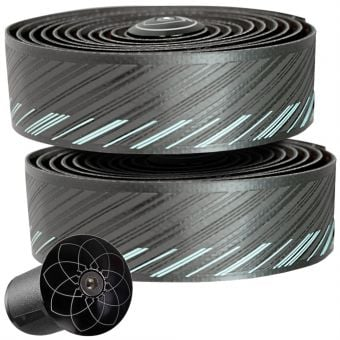 Silca Nastro Cuscino Bar Tape Black/Miami Green