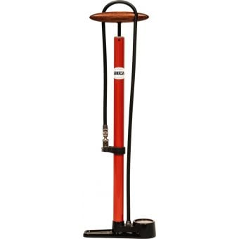 Silca Pista 220psi Floor Pump Red