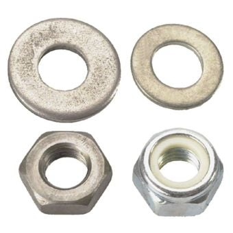 Silca Pista Floor Pump Metal Nut Washer Spacer Kit