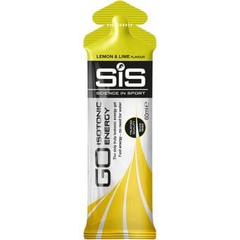 SIS GO + Isotonic Energy Gel Lemon & Lime 60ml