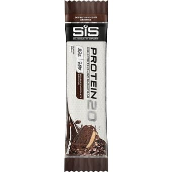 SIS Protein20 Energy Bar Double Chocolate Brownie 55g