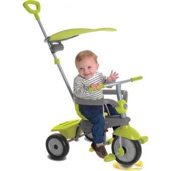 Smartrike Carnival 3-Stage Tricycle Green/Grey