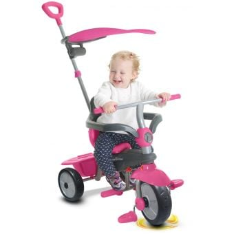 Smartrike Carnival 3-Stage Tricycle Pink/Grey