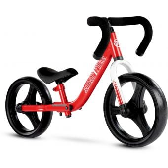 Smartrike Folding Balance Bike w/ Safety Pads Red