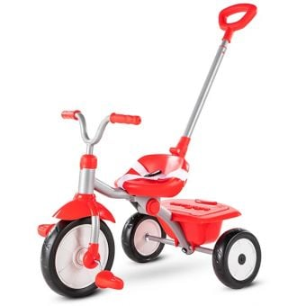 Smartrike Folding Fun 2-Stage Tricycle Red/White