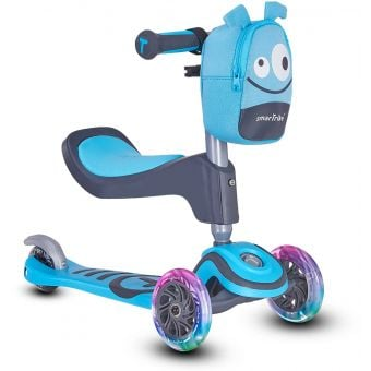 Smartrike T1 Kids 3-Stage Scooter Blue