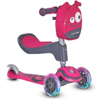 Smartrike T1 Kids 3-Stage Scooter Pink