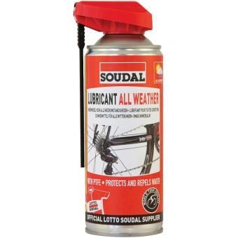 Soudal Bicycle Chain Dry Weather Lubricant 100mL