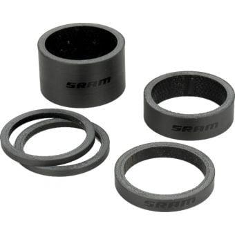 SRAM AM Headset Spacer Kit Black/Gloss Black