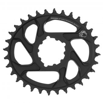 SRAM Eagle X-Sync 2 12s Direct Mount Oval Chainring Black