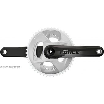 SRAM Force D1 Crank Arm Assembly 24mm 172.5mm Black
