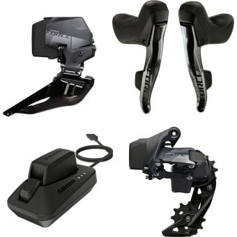 SRAM Force eTap AXS 2X Upgrade Kit (Shifters/Fder/Rder/Battery/Charger)