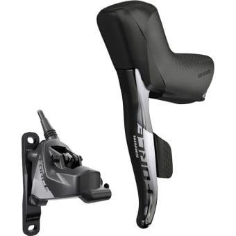 SRAM Force eTap AXS HRD Left Lever/Rear Hydraulic Disc Brake Set Grey