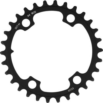 SRAM Force Wide 2x12spd 94BCD Road Chain Ring 30T Blast Black