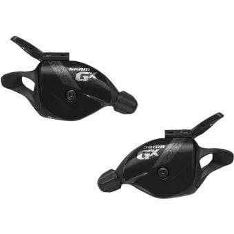 SRAM GX 2x10 Exact Actuation Trigger Shifter Set Black