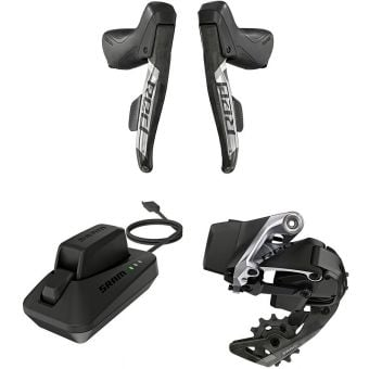 SRAM RED eTAP AXS 1X Road Kit (Shifters/Rear Der/Battery/Charger)
