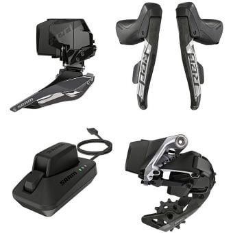 SRAM RED eTap AXS 2X Road Kit (Shifters/FD+RD/Battery/Charger)