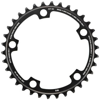 SRAM Red X-Glide Yaw 11S 110BCD Alloy Road Chainring Blast Black