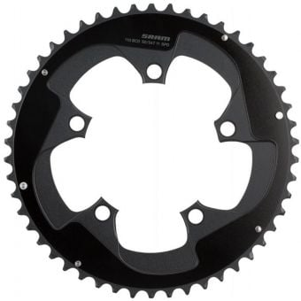 SRAM Red Yaw 11 Speed 110BCD 50T 5-Bolt 2-Pin B2 Road Chainring Black