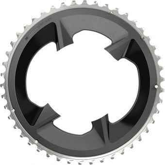SRAM Rival 107BCD 2x12 46T Road Chain Ring Black with cover plate