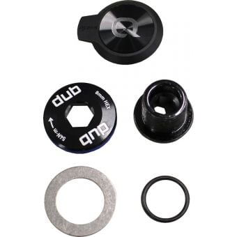 SRAM Rival AXS D1 DUB Power Meter M30/M18 Crank Bolt and Plug Black