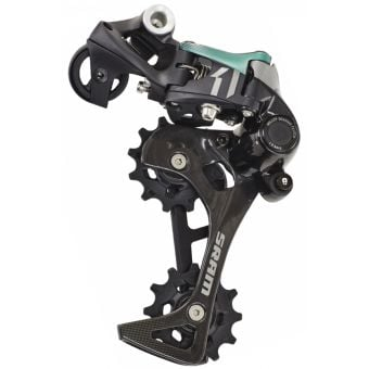 SRAM X01 11 Speed Type 2.1 Rear Derailleur Black/Green