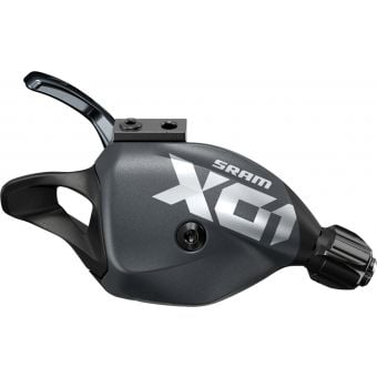 SRAM X01 Eagle 12 Speed Single Click Trigger Shifter with Discrete Clamp Lunar Grey