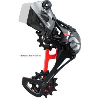 SRAM X01 Eagle AXS Rear Derailleur Red
