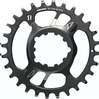 SRAM X-Sync 3mm Offset Steel 1x11sp Direct Mount Chainring Black