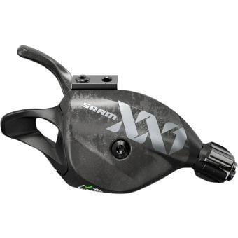 SRAM XX1 Eagle 12 Speed Single Click Trigger Shifter with Discrete Clamp Lunar Grey