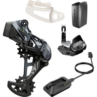 SRAM XX1 EAGLE AXS Upgrade Kit (Rear Derailleur/Battery/Shifter/Charger) Black