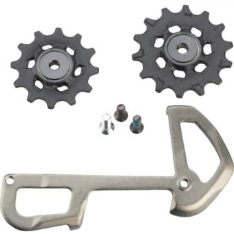 SRAM XX1 Eagle Rear Der 12spd X-Sync Pulleys and Inner Cage Grey