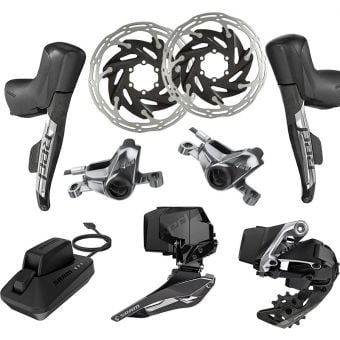 SRAM RED eTap AXS 2X HRD Hydraulic Post Mount Upgrade Kit (FD/RD/HRD/Battery/Charger)
