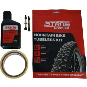 Stan's NoTubes 27mm Tape/44mm Valve MTB Tubeless Kit