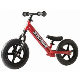 "STRIDER Classic 12"" Balance Bike Red"