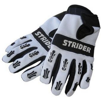 STRIDER Riding Gloves Grey/Black X-Small