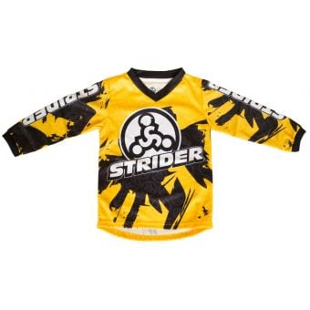 STRIDER Toddler Race Jersey Yellow