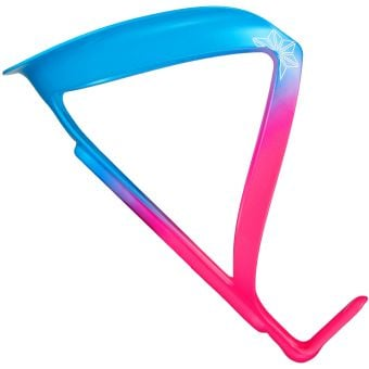Supacaz Fly Limited Edition Alloy Bottle Cage Neon Pink/Neon Blue