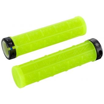 Supacaz Grizip Clear 135x32mm Lock-On MTB Grips