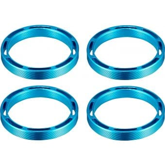Supacaz Hollow 1 1/8 SupaSpacer 5mm x 4pcs Blue