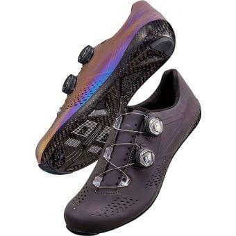 Supacaz Kazze Carbon Unisex Road Shoes Oil Slick Reflective