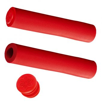 Supacaz Siliconez SLXL 30mm Bar Grips Red
