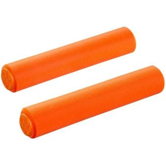 Supacaz Siliconez XL Bar Grips Neon Orange