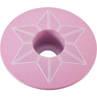 Supacaz Star Capz Powder Coated Giro Pink