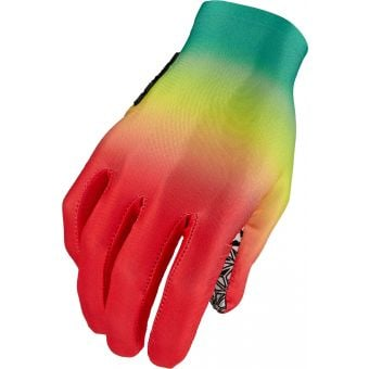 Supacaz SupaG Long Finger Gloves Gradient Zion